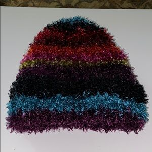 Other - Fuzzy Multi-Color Winter Hat